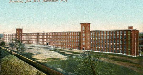 Amoskeag Mills Manchester Nh Google Search Manchester Nh