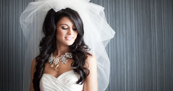 Real Brides, Really Gorgeous Wedding Hair