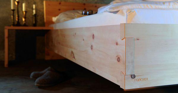 Schlafzimmer ideen zirbenholz schlafzimmer modern die for Bett zirbenholz
