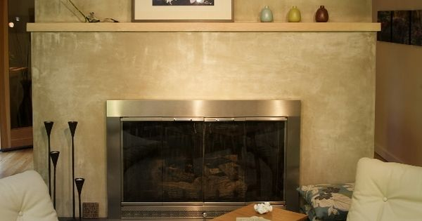 Stucco finish around fireplace fireplace ideas pinterest stucco finishes - Fireplace finish ideas ...