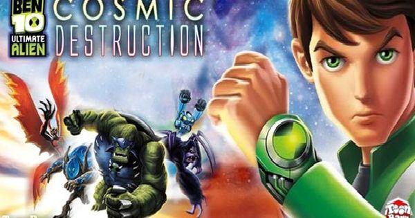 Ben 10 Ultimate Alien Cosmic Destruction Android Psp Iso Cso Usa