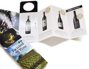 Folded Bottle Neck Hanger Wine Bottle Neck Tags Wine Bottle Tags Bottle Tags