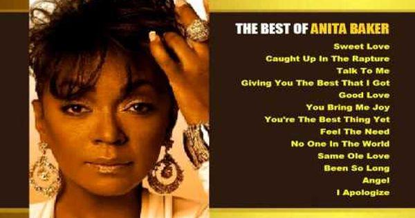Anita Baker The Best Of Anita Baker Soul Music Her Music My