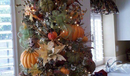 Image: Thanksgiving Tree - Love This.