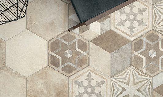 Porcelain Stoneware Floor Tiles Heritage By Ceramica