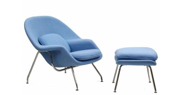 Womb chair and ottoman womb chair room and modern - Womb chair knock off ...