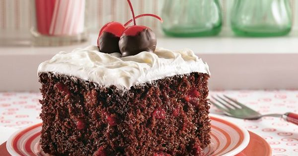 Chocolate Cherry Cola Cake Recipe