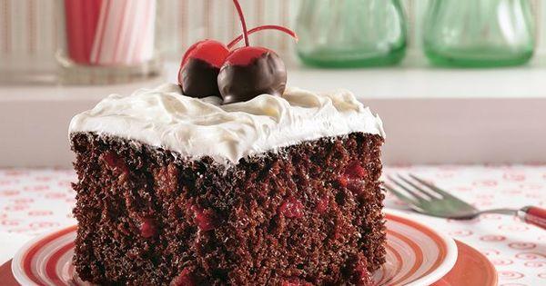 Chocolate Cherry Cola Cake Recipe