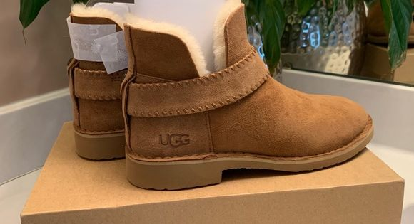Ugg Mckay Boot - Chestnut - Size 7.5 - New!