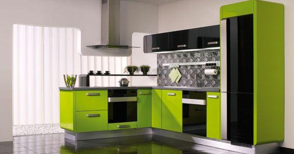 21 Refreshing Green Kitchen Design Ideas Lime Green Kitchen Green Kitchen And Kitchen Ideas