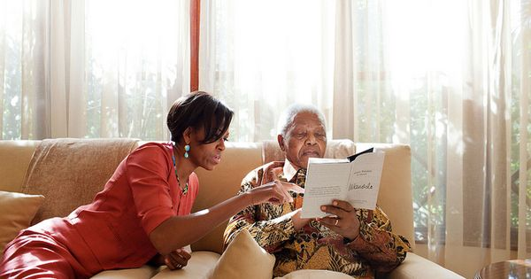 Nelson Mandela: Mandela's commitment to improving the world around him, one person