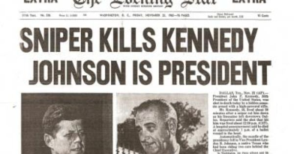 an introduction to the history of jfk assassination President lyndon b johnson appointed the president's commission on the assassination of president kennedy, commonly called the warren commission, by executive order (eo 11130) on november.