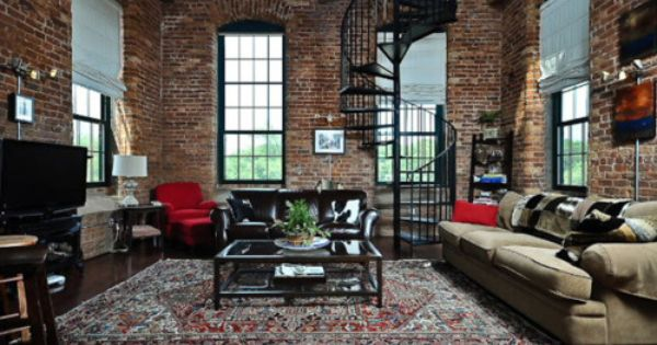 I love lofts appartements design pinterest - Ameublement design appartement russe ...