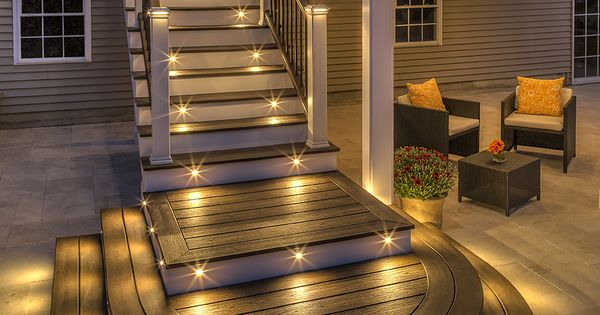 Party Long Into The Night With Trex Outdoor Lighting Our