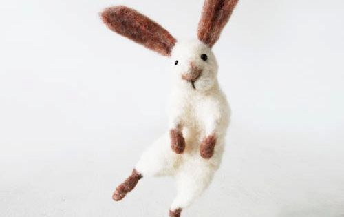 Sir Hopsalot ( Easter bunny rabbit, handmade from quality sheep wool -