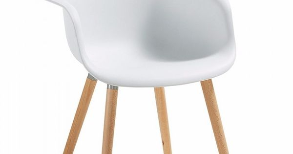 Sill n moderno de pl stico y madera sillas modernas for Disenadores de sillas modernas