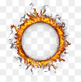 Ring Of Fire Border Frame Flame Vector Png Transparent Clipart Image And Psd File For Free Download Fire Vector Best Background Images Frame Logo