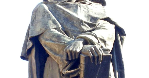 a biography of giordano bruno a philosopher Giordano bruno (italian: [d or dano bruno] latin: iordanus brunus nolanus 1548 - 17 february 1600), born filippo bruno, was an italian dominican friar, philosopher, mathematician, poet, and astrologer he is remembered for his cosmological theories, which conceptually extended the then.