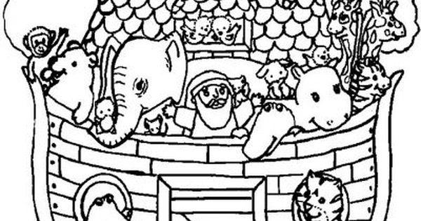 Arca Di Noe Da Colorare.Animali Sull Arca Di Noe Disegni Da Colorare Per Il Catechismo