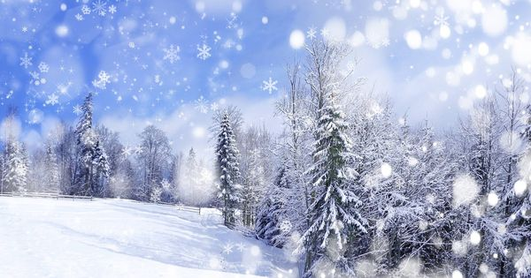 Anime Winter Scenery Wallpaper 9
