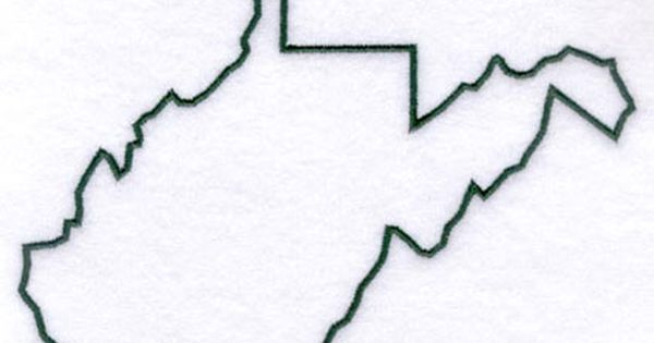 Virginia State Outline