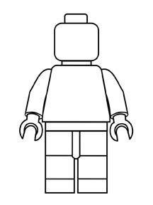 Lego Man Template חיפוש ב Google Lego Printables Lego Party