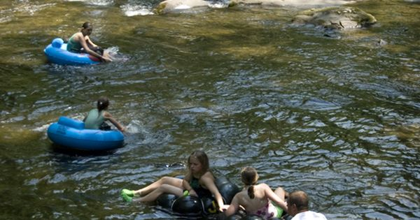 Tubing is a time-honored tradition at Deep Creek. For just a few