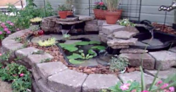 How to make a backyard pond and waterfall housecalls for Making a pond with liner