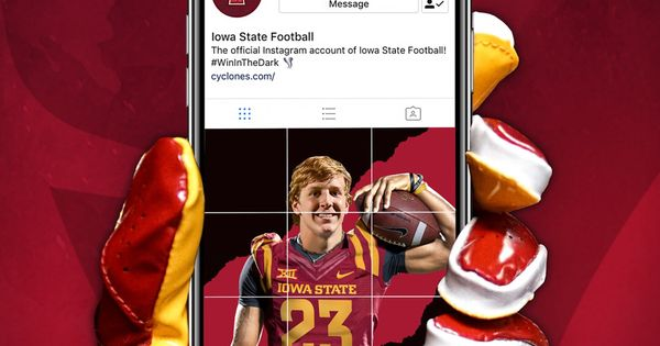 Iowa State Sports Graphic Design College Football Recruiting