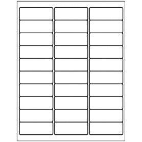 Free Avery Templates Address Label 30 Per Sheet Free