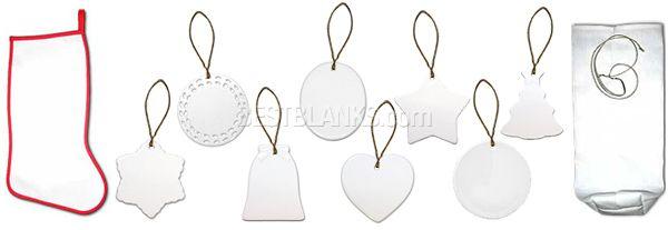 Ceramic Ornaments Stocking Stuffer Wine Bag Ceramic Ornaments Wine Bag Ornaments