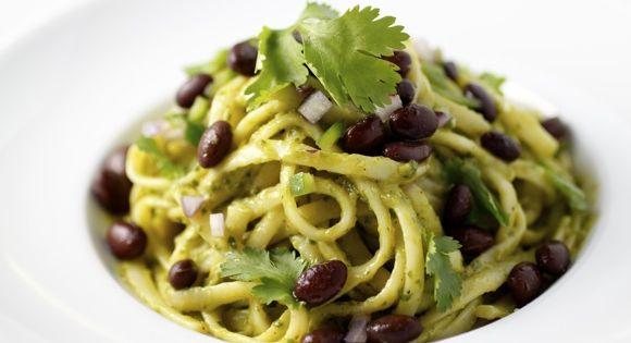 avocado black bean linguine | Food to make | Pinterest | Black Beans ...