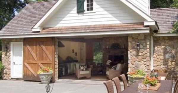 Detached garage with breezeway detached garage for Detached garage pool house