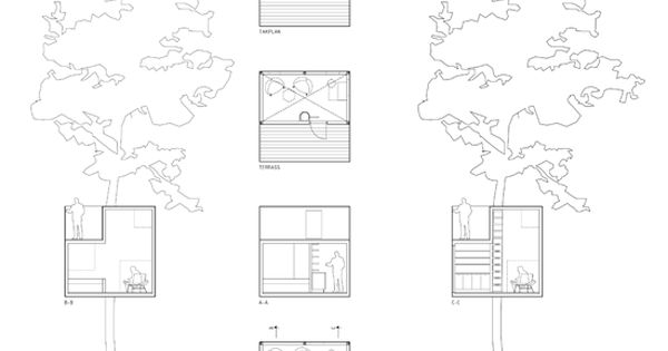 Reflective Tree House plans Cabins treehouse