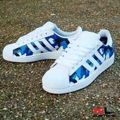 Hedendaags Image of ADIDAS SUPERSTAR CAMO CUSTOM | Sneakers, Adidas superstar TI-65