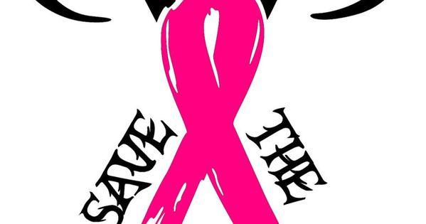 Save The Racks Breast Cancer Awareness Car Truck Window