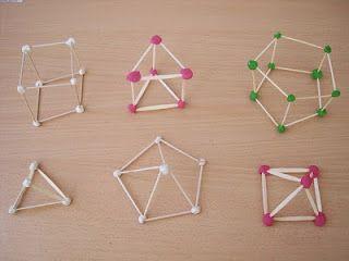 Taquiamila Próxima Actividad Cuerpos Geométricos Con Palillos De Dientes Actividades De Matematicas Actividades Ideas De Colegio