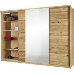 Schwebeturenschrank Holzfarben 285 Cm 209 Cm 70 Cm