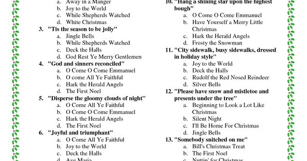 Trivia songs and christmas trivia on pinterest