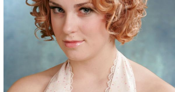 Short, curly hairstyles for women