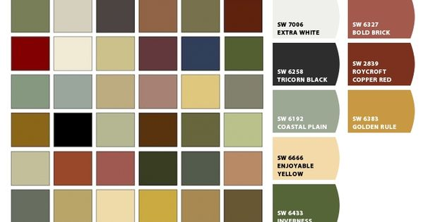 chip it by sherwin williams craftsman good color palettes for your home pinterest. Black Bedroom Furniture Sets. Home Design Ideas