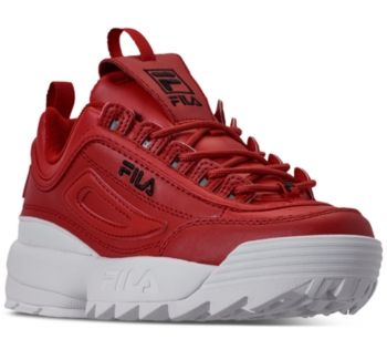 Fila Women's Disruptor Ii Premium Casual Athletic Sneakers