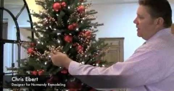 How To Add Floral Picks To Your Christmas Tree Floral Picks Christmas Tree Christmas