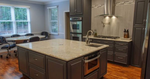 Kitchen Remodel In Knoxville Tn Designed By Cendi Dillon With Modern Supply In Knoxville Tn