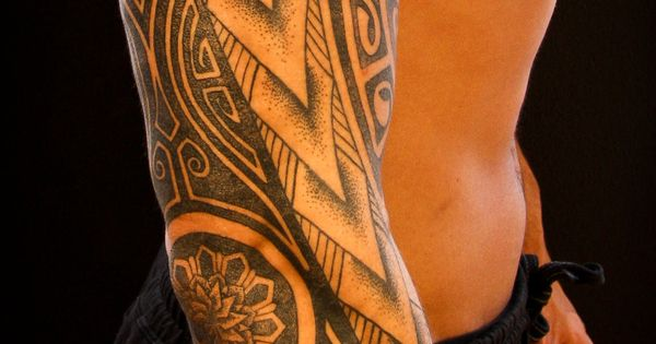 Male Tattoo Ideas Tribal polynesian tattoo