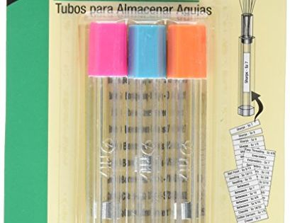 Dritz 812 Clear Needle Storage Tubes