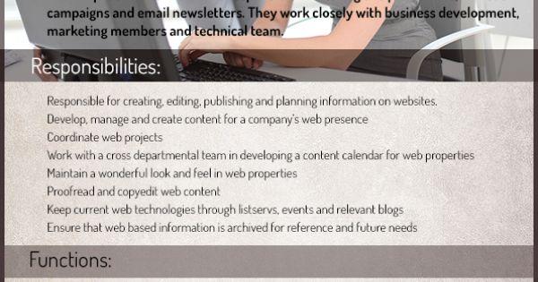 CONTENT EDITOR JOB DESCRIPTION EXAMPLE Job description example - photo editor job description