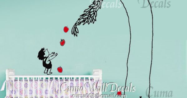Shel Silverstein Wall Decal: The Giving Tree, Tree Wall And Tree Wall