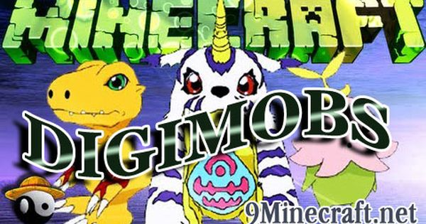 Digimobs Mod 1 10 2 X2f 1 8 9 X2f 1 7 10 Minecraft Org