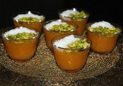 طريقة مهلبية قمر الدين Recipe Ramadan Recipes Arabic Dessert Desserts